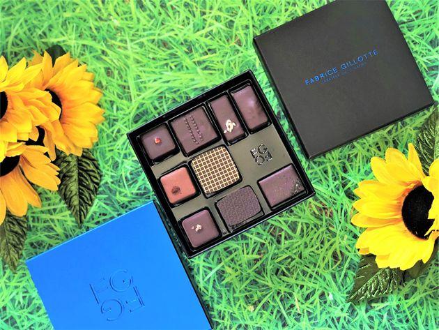 【ファブリス・ジロット 青山本店】日頃お世話になっている大切な方に2018 夏の贈り物・お中元ギフト 爽やかフレーバーのチョコレートを厳選したBOX