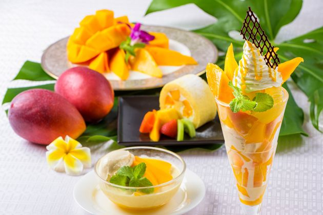 【宮古島 東急ホテル&リゾーツ】収穫時期限定!宮古島産のマンゴーだけを使用した4種類のマンゴースイーツを販売!