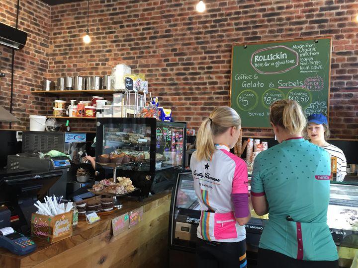 クライストチャーチのレトロで可愛いカフェ「Rollickin' Desert Cafe」