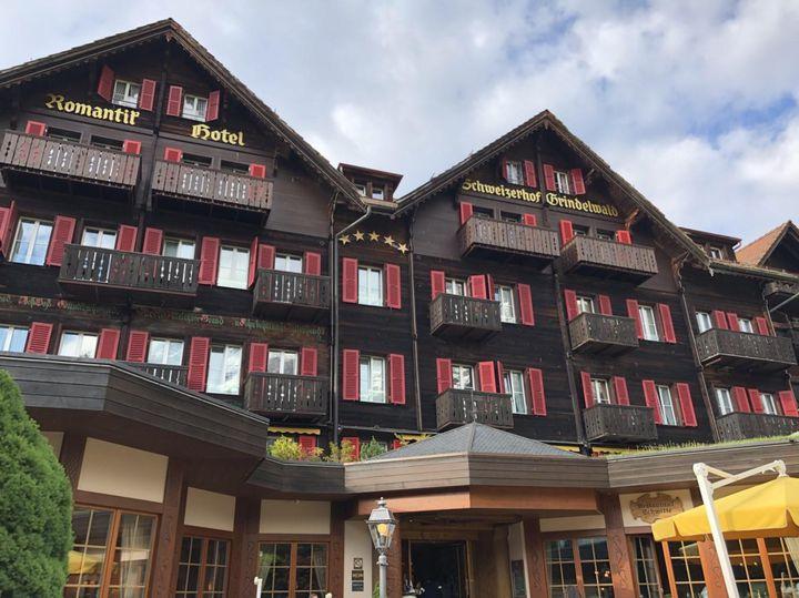 スイスのグリンデルワルド 5つ星ホテル 「シュヴァイツァーホフ」がとっても快適説!