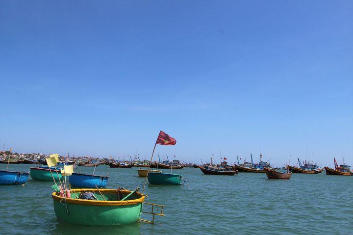 ベトナムのリゾートエリア「ムイネー」で海を眺めながらシーフード!