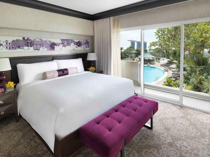 ロケーション評価が高いフェアモントホテル。