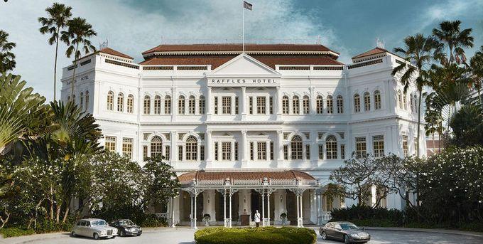 シンガポールといえば、ラッフルズホテル!