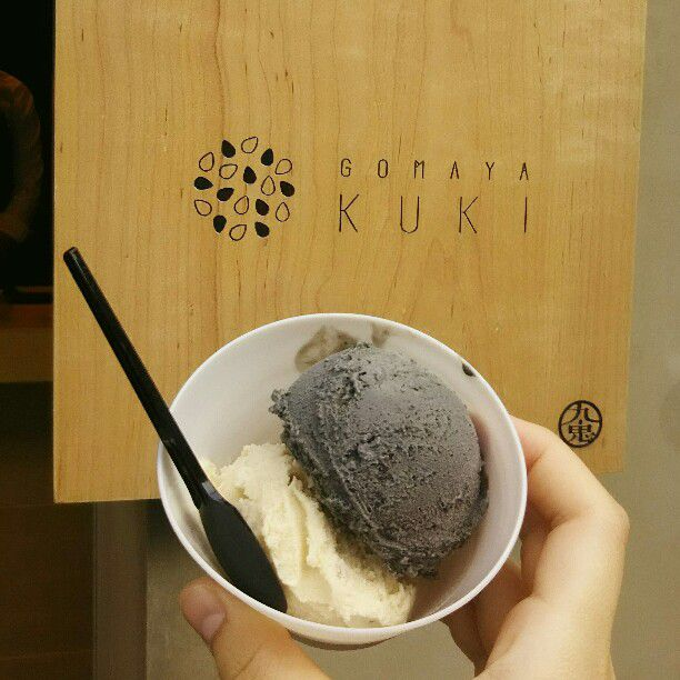 超特濃ごまアイス専門店!「GOMAYA KUKI」が原宿にオープン
