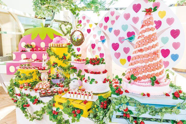 【終了】デザートブッフェ「ストロベリー・フィールド」ヒルトン東京ベイで開催