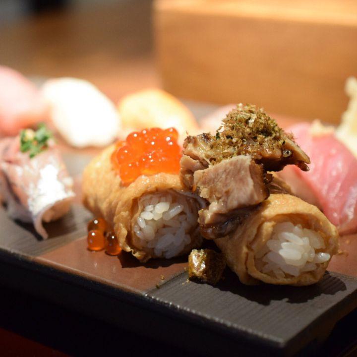 お寿司だって映える時代。恵比寿の「寿司居酒屋 あげまき」のお寿司が綺麗すぎる