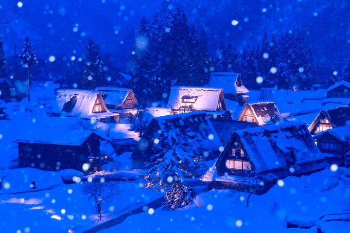 【終了】世界遺産の冬景色を堪能!「相倉合掌造り集落ライトアップ」開催決定