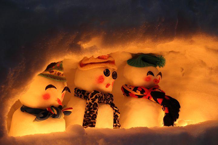 【終了】可愛らしい雪だるまがずらり!「白峰雪だるままつり」石川県で開催