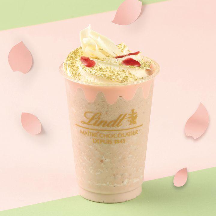 """【終了】桜が香るホワイトチョコレート!リンツから""""サクラのドリンクとデリース""""が登場"""