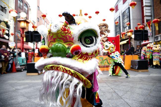 【終了】中国獅子舞や中国舞踊の迫力満点のステージ!神戸で「2018南京町春節祭」開催