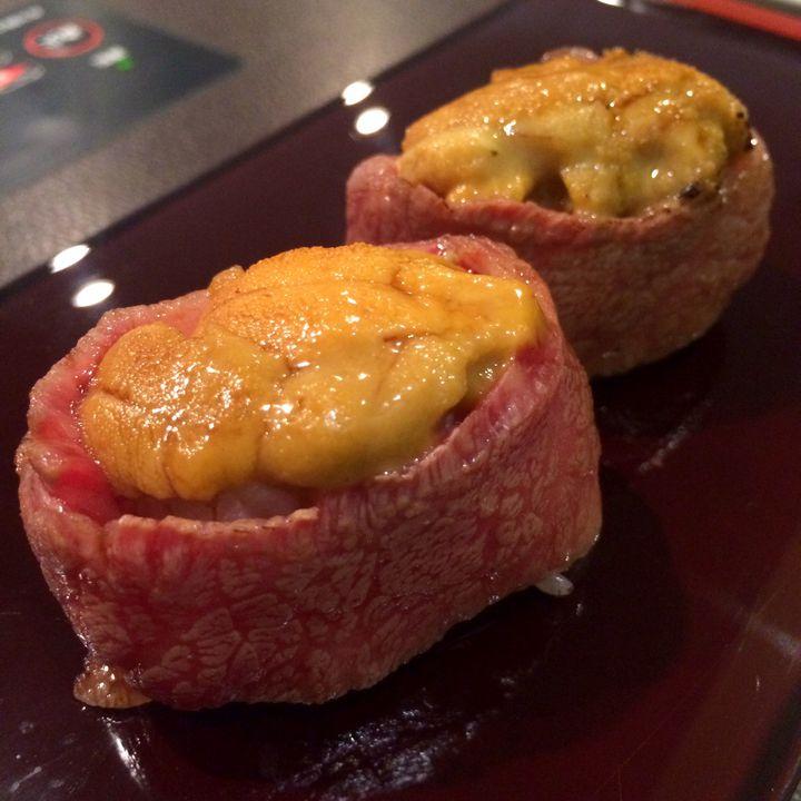 """肉好きよ集まれ!東京都内でとろける""""肉寿司""""が美味しいお店10選"""