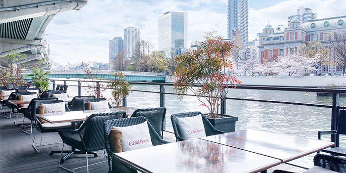 水都大阪だからおしゃれできる。北浜エリアのテラス席があるカフェ8選