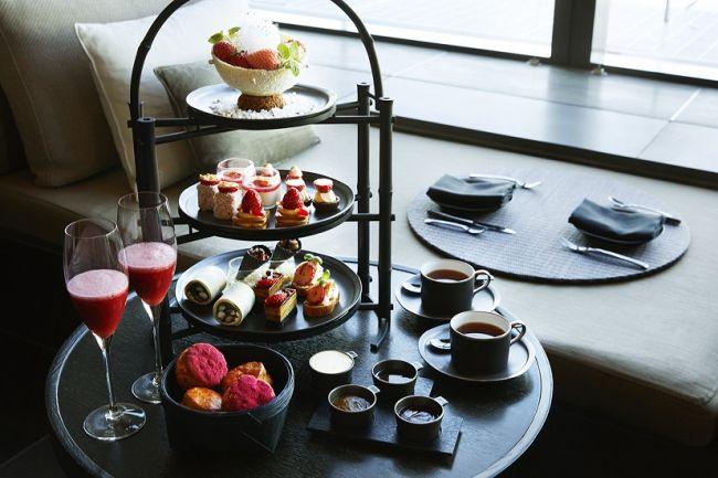 """【終了】贅沢に季節を感じる。アマン東京の""""苺づくしのアフタヌーンティー""""が食べたい"""