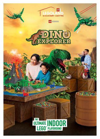 童心に返って楽しめる!「ダイノ・エクスプローラー ~探検!恐竜王国!~」が話題