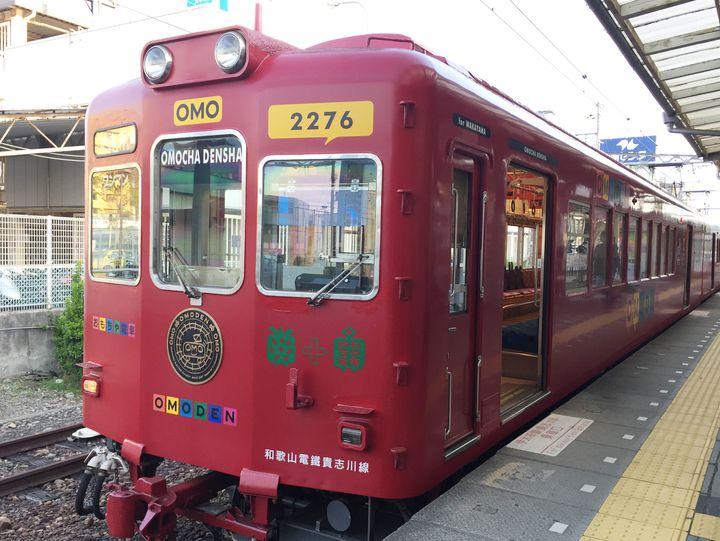 猫の駅長やおもちゃ電車!子供も喜ぶローカル線の旅!和歌山電鐵