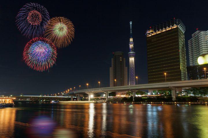 【終了】今年もやって来た、夏の風物詩。「第41回隅田川花火大会」開催