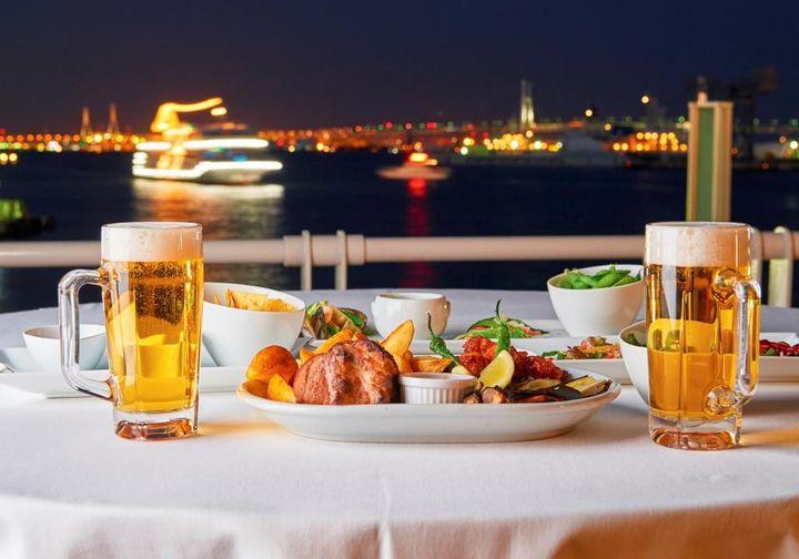 【終了】最高のロケーションで乾杯しよう!横浜で「海の見えるビアガーデン 」開催