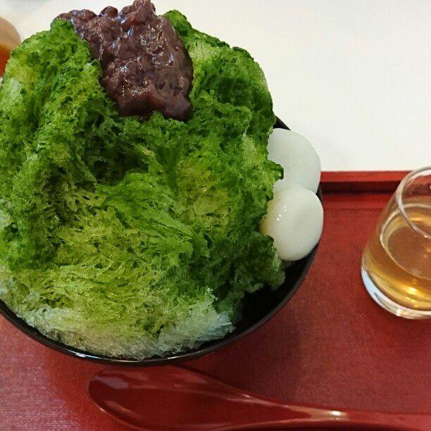 かき氷シーズン、到来。奈良の「千壽庵吉宗」のわらび餅を使った「かき氷」が絶品!