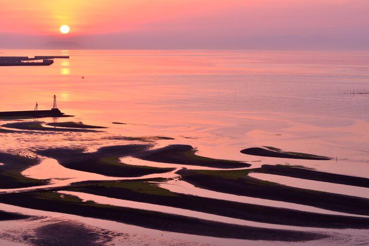 """自然が生み出した偶然の産物。波紋が美しい""""御輿来海岸""""が幻想的"""