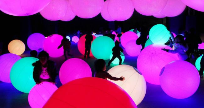 【終了】世界的に人気のイベント!「チームラボ 学ぶ!未来の遊園地」長野で開催