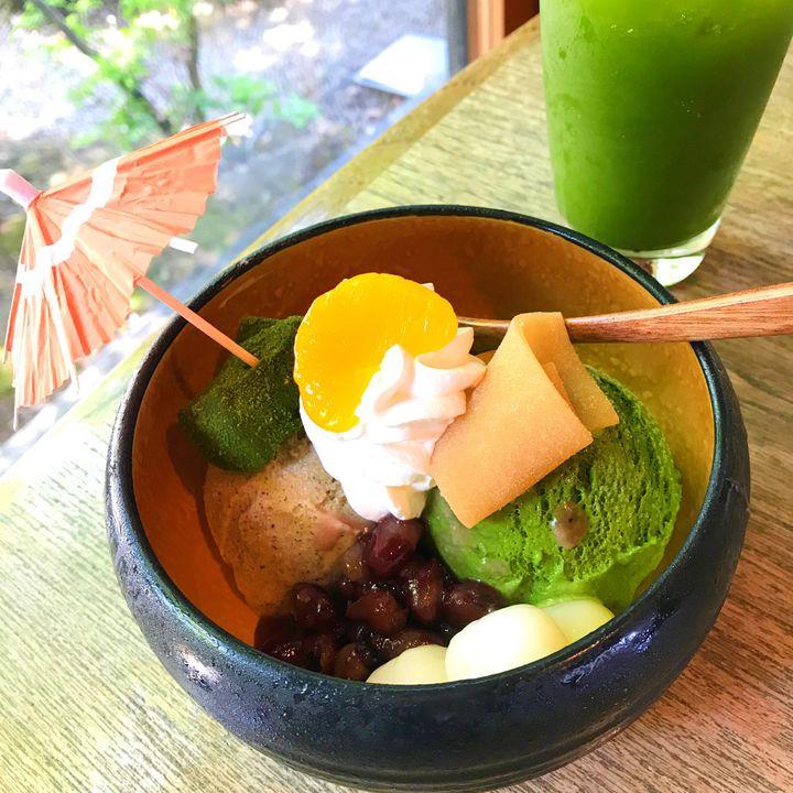 """京都の抹茶アイスに恋してる! 京都で極上の""""抹茶アイス""""を食べられるお店10選"""