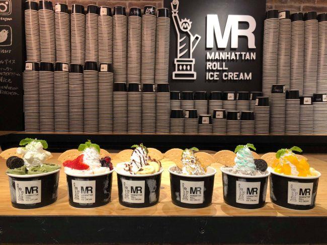 行列ができる人気店!「マンハッタンロールアイスクリーム」名古屋初出店