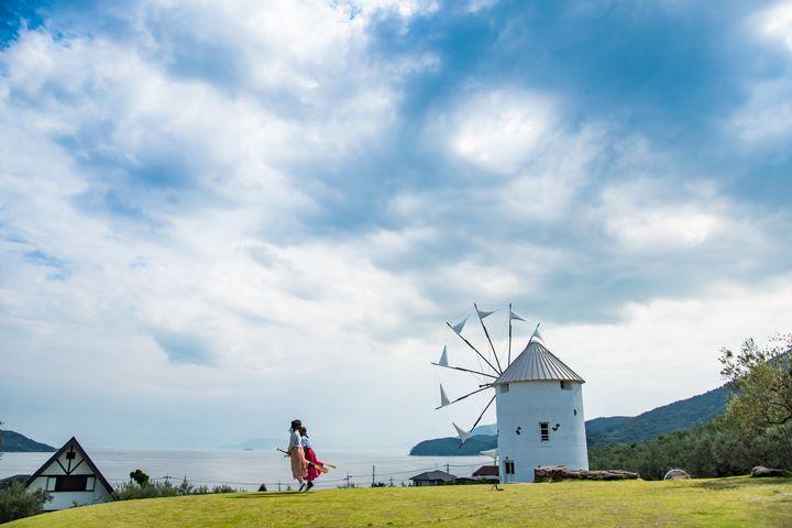 旅する魔女の羽休め。女子旅におすすめの「小豆島オリーブ公園」を大解剖