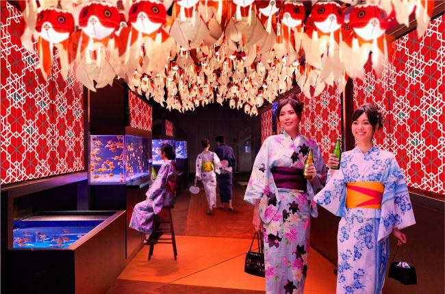 【終了】日本最大級の金魚空間。すみだ水族館で「東京金魚ワンダーランド2018」開催