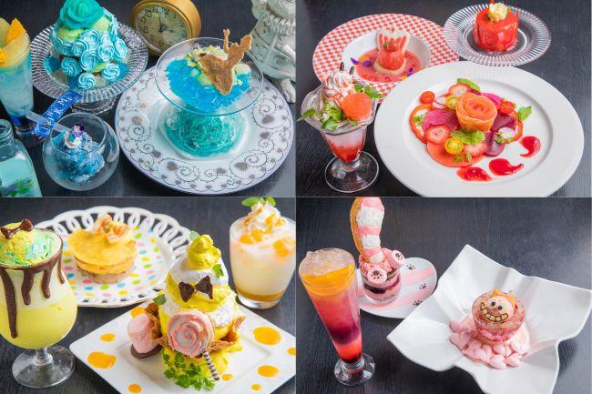 東京都内4店舗で「アリスのファンタジーレストラン」期間限定メニュー展開