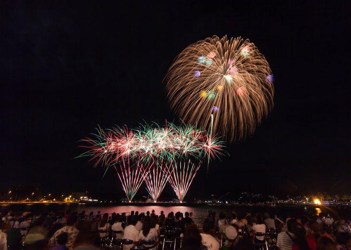 【終了】2尺玉のビック花火が圧巻!「させぼシーサイドフェスティバル」が今年も開催