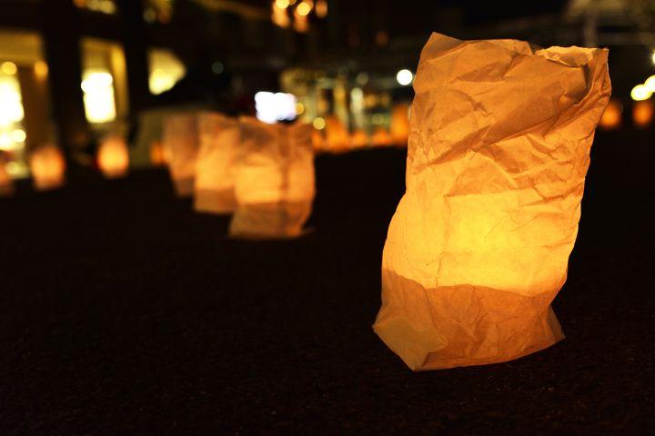 【終了】やわらかな灯りに包まれて。長野県飯山市で「いいやま灯篭まつり」開催