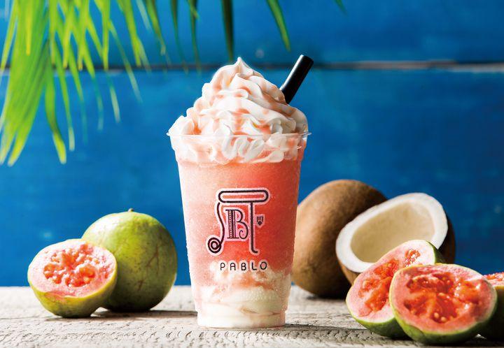 【終了】夏限定新作スムージー!パブロから「真夏のグアバとココナッツ」登場