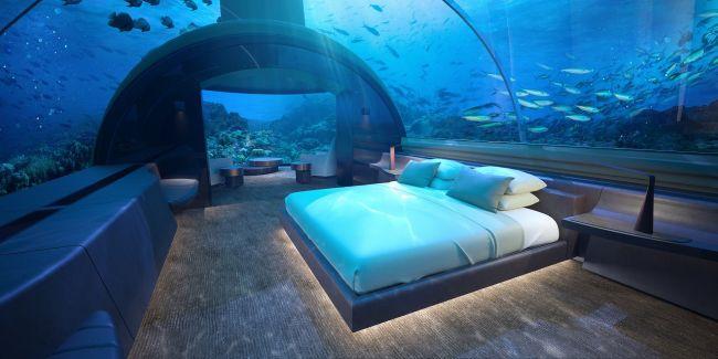 世界初の海中宿泊施設!モルディブの「ザ・ムラカ」が革新的すぎる