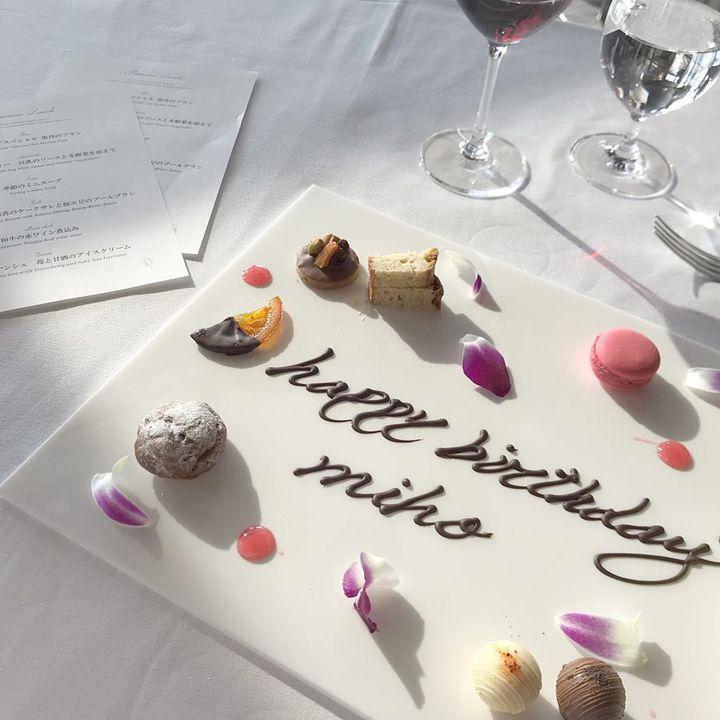 美しいプレートで大人の誕生日を。東京都内でオススメの誕生日ディナー9選