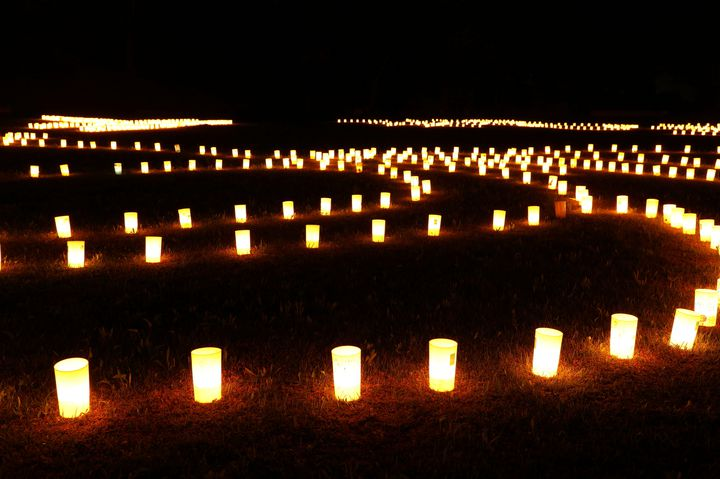 国の三重指定スポットをライトアップ。福井県で「越前朝倉万灯夜2018」開催