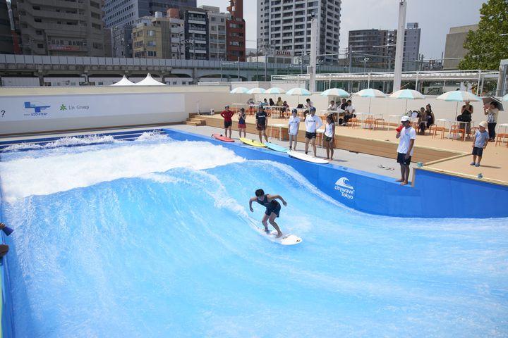 """サーフィンもできる!日本最大級の""""複合スポーツエンターテイメント施設""""が大井町に"""