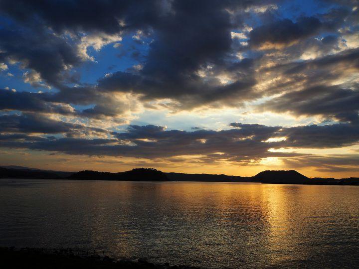"""湖山池、日本一大きい""""池""""は鳥取県にあった"""
