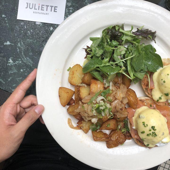 ブルックリンに恋して。NY「Juliette」は最高のブランチスポット