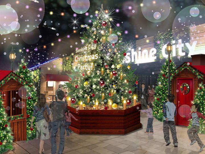 【終了】開業40周年!サンシャインシティで皆で楽しめる「クリスマスイベント」開催