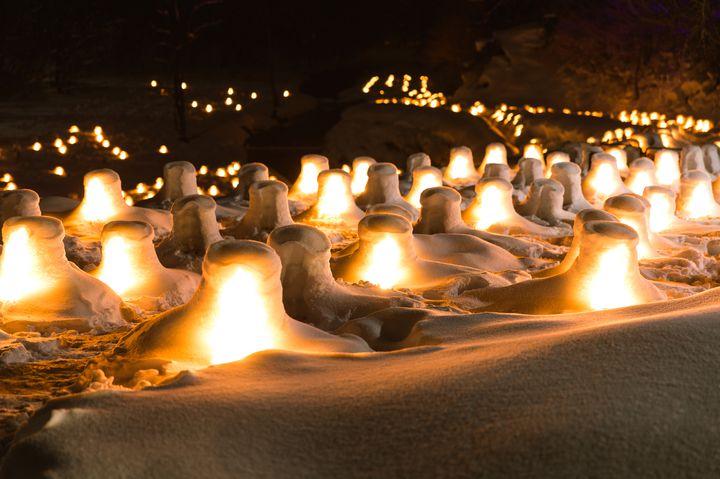 【終了】無数のかまくらが作る冬景色。日光「湯西川温泉 かまくら祭り」開催決定