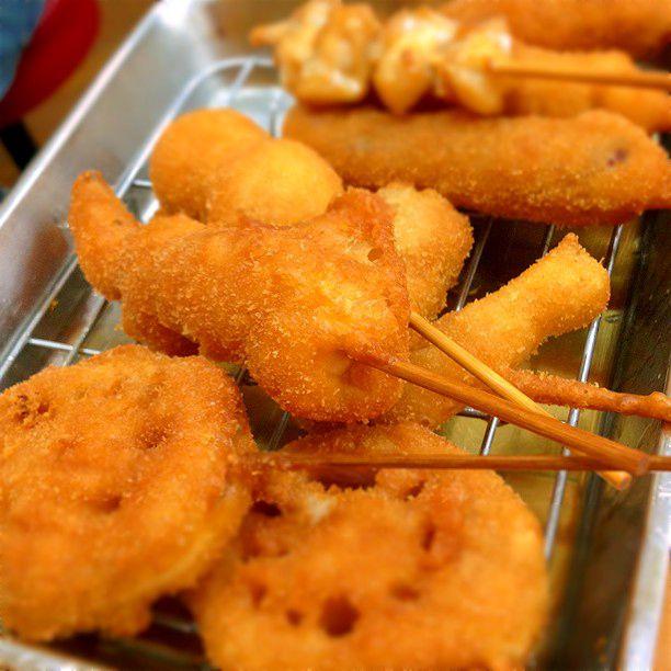 関西グルメの王道!関西の串揚げが美味しすぎるお店7選はこれだ