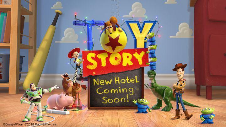 東京ディズニーリゾートに「トイ・ストーリー」のホテル2021年度開業