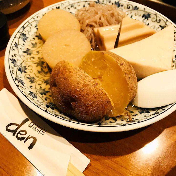 おでんと日本酒、最強のふたり。四ツ谷「おでんや den」で冬に乾杯しよう
