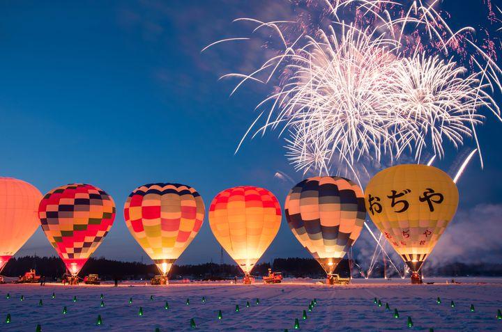 【終了】この冬はカラフルな絶景を!新潟県で「おぢや風船一揆」が開催