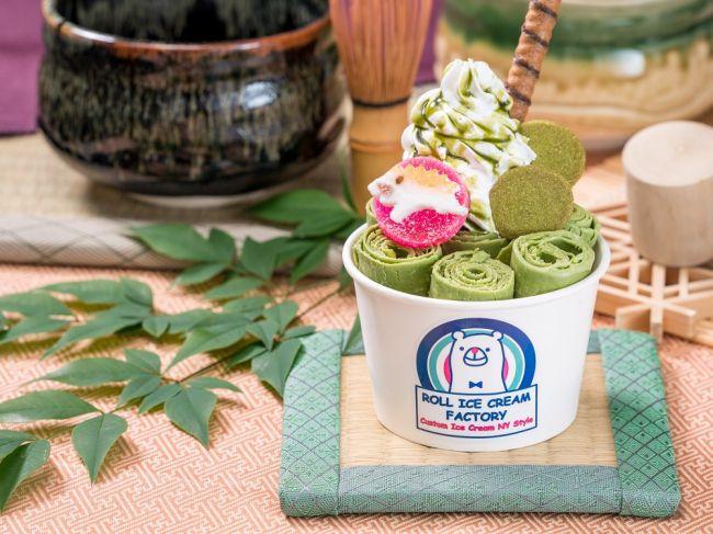 京都限定メニューも!「ロールアイスクリームファクトリー」京都・新京極通にオープン