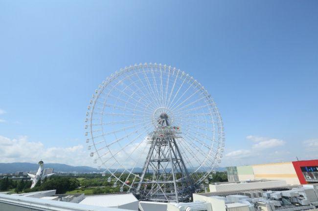 【終了】高さ日本一の観覧車「Redhorse OSAKA WHEEL」で恵方巻きを