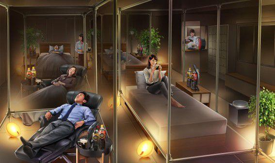 良質な睡眠ができるカフェが常時営業!「ネスカフェ 睡眠カフェ」大井町にオープン