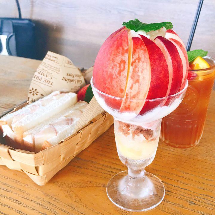 「山梨」で旬の「フルーツ」を使ったスイーツが楽しめるカフェ7選