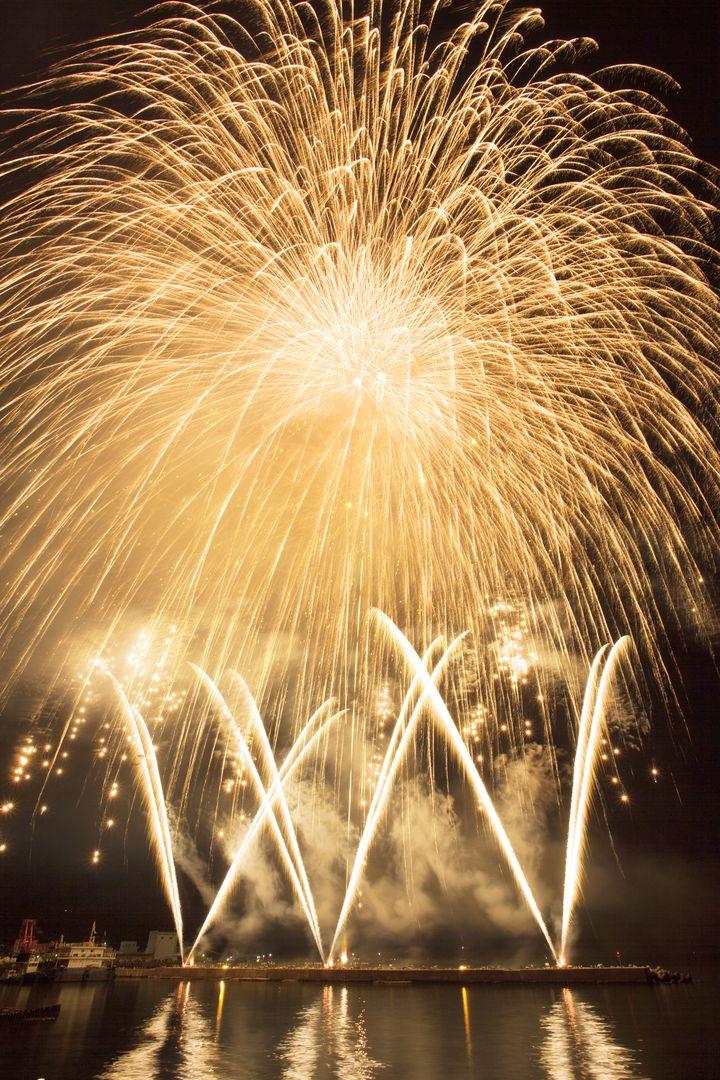 【終了】もはや常にフィナーレ?石川県で「輪島市民まつり 市民大花火大会」開催