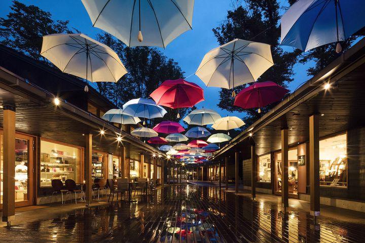 雨の日だからこそ出かけよう!「軽井沢アンブレラスカイ2019」開催